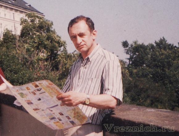 На снимке: Владимир Резниченко