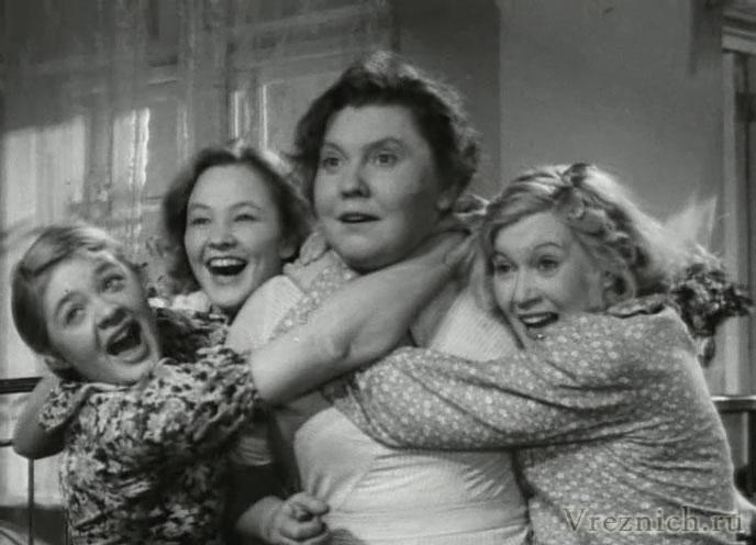 На снимке: Н.Федосюк, В.Алтайская, Е.Тяпкина, Л.Орлова, А.Терехина